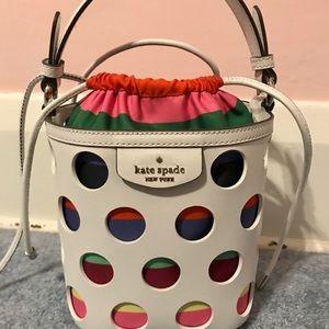 Authentic Kate spade bucket purse
